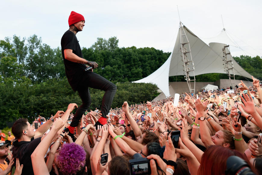 Twenty One Pilots at Bunbury Music Festival