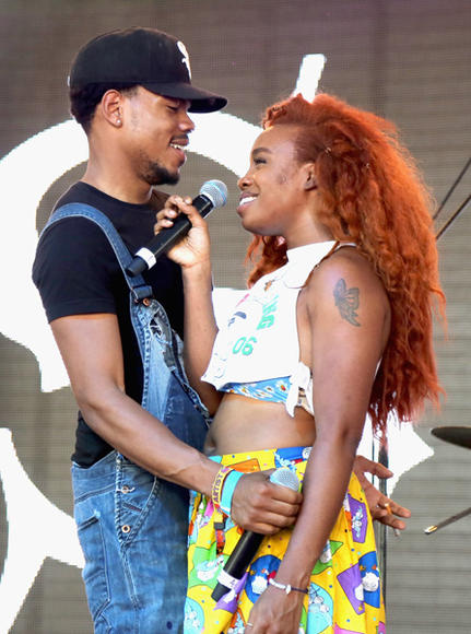Chance the Rapper and SZA