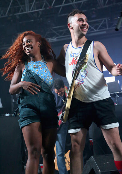 SZA and Bleachers