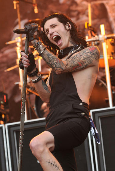 Black Veil Brides at Download Festival