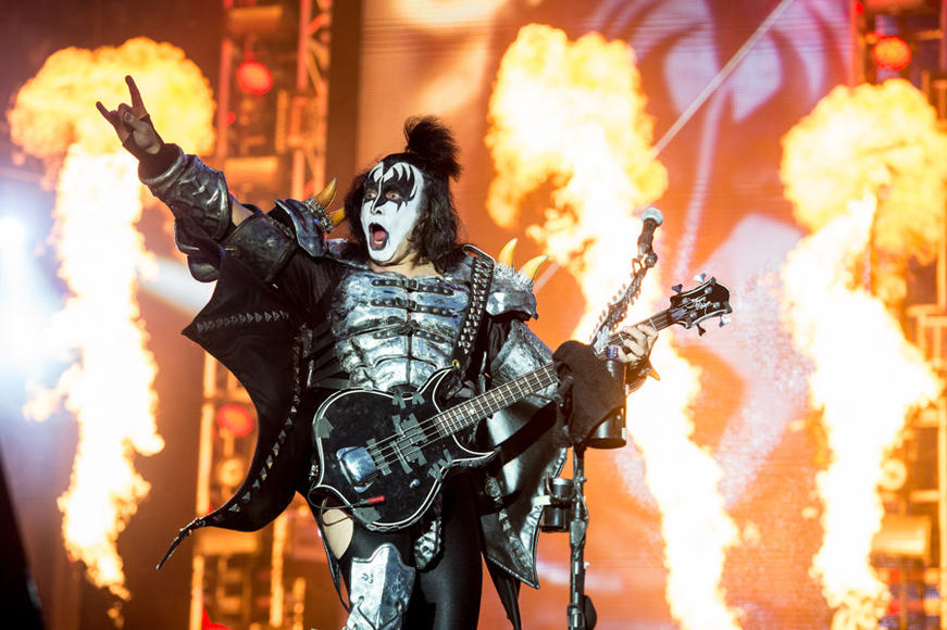 KISS at Download Festival
