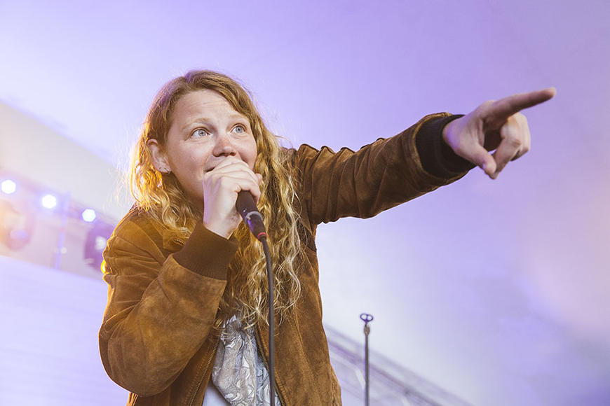 Kate Tempest at Best Kept Secret Festival
