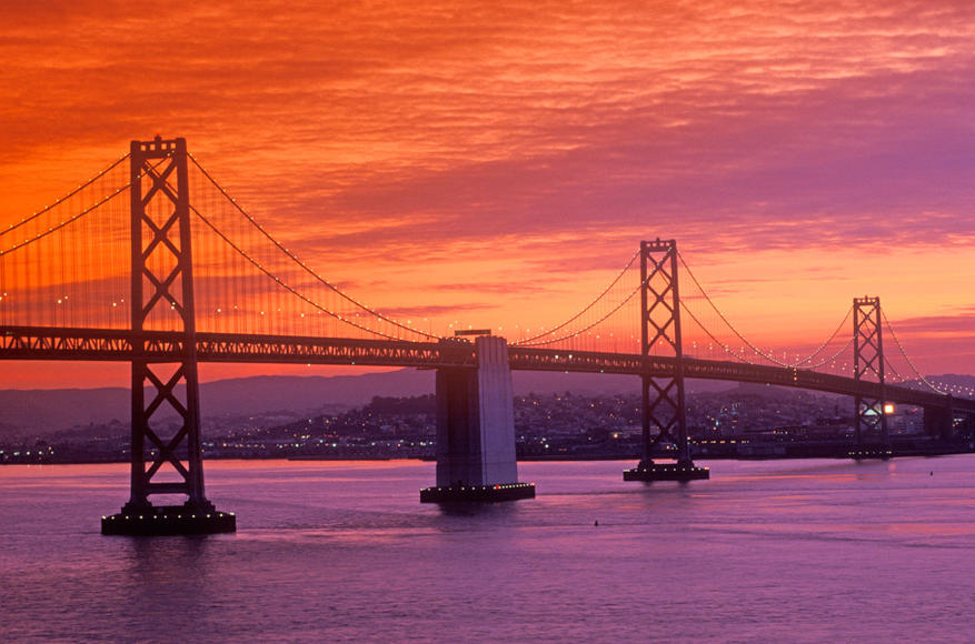 Tip #10: The best views are on the west side. See amazing sunsets over the Bay!