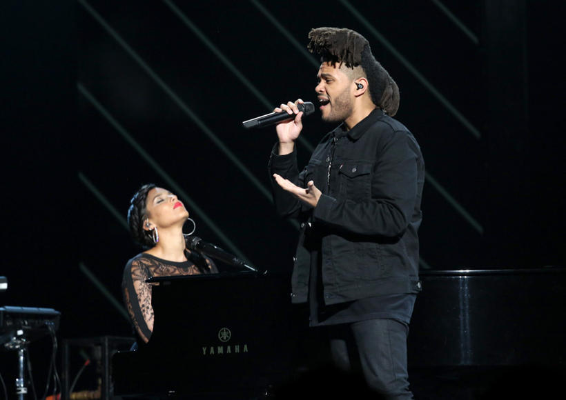 Alicia Keys and The Weeknd
