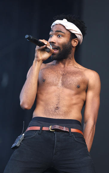 Childish Gambino at New Look Wireless Festival
