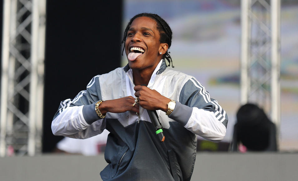 A$AP Rocky at New Look Wireless Festival