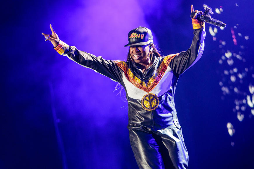 Missy Elliot at Essence Festival