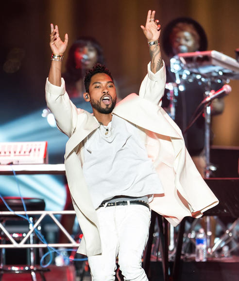 Miguel at Philly 4th of July Jam