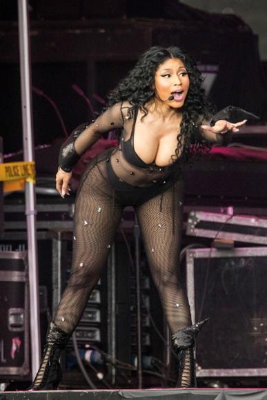 Nicki Minaj at Roskilde Festival