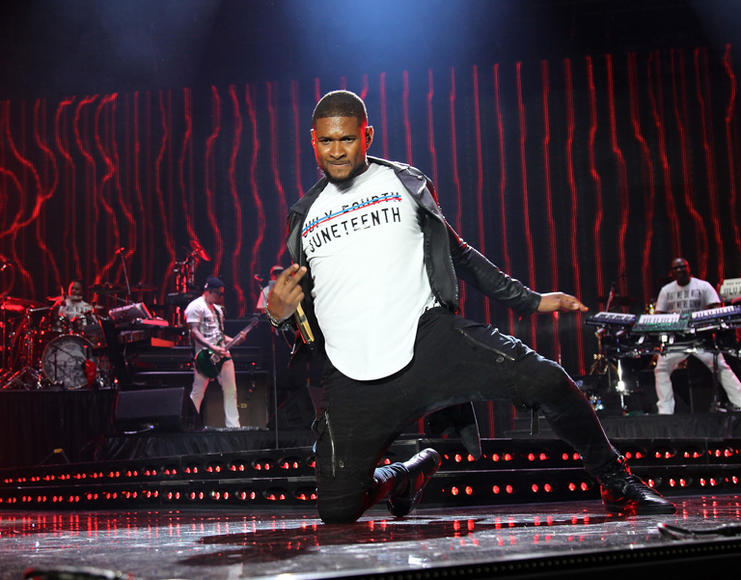 Usher at Essence Music Festival