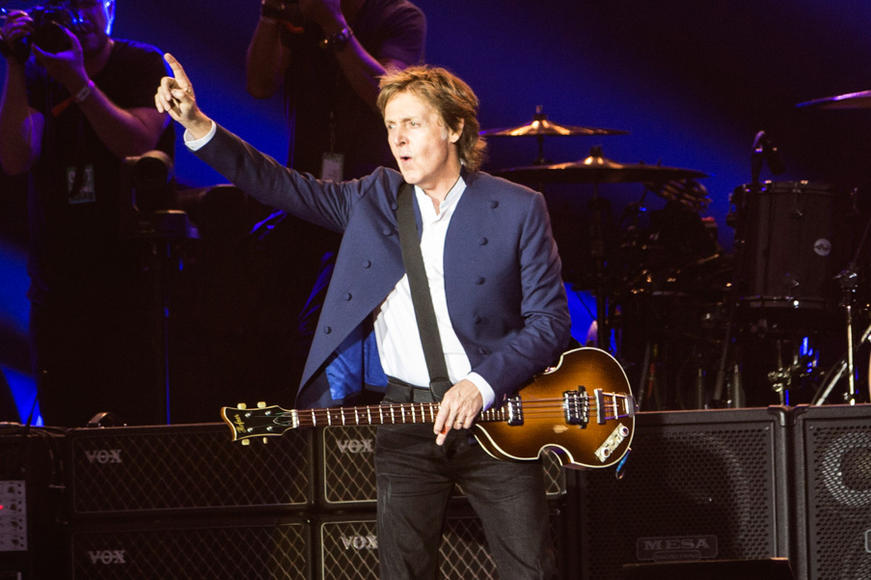 Paul McCartney at Roskilde Festival