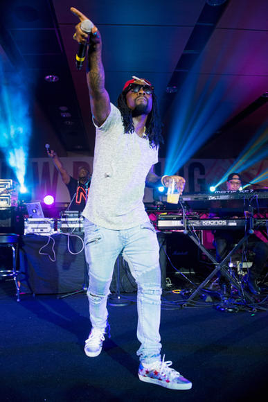 Wale at Essence Music Festival