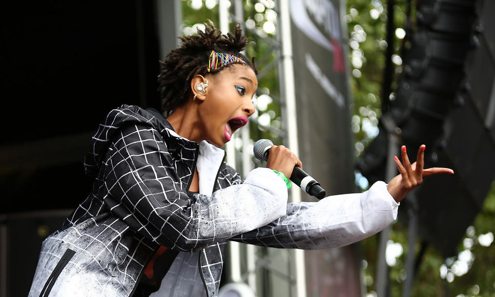 Willow Smith at New Look Wireless Festival