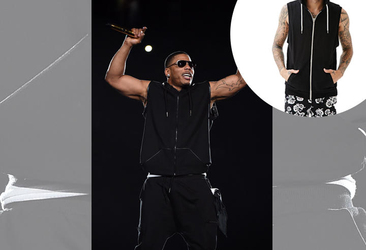 Nelly: Forever 21 Zippered Sleeveless Hoodie