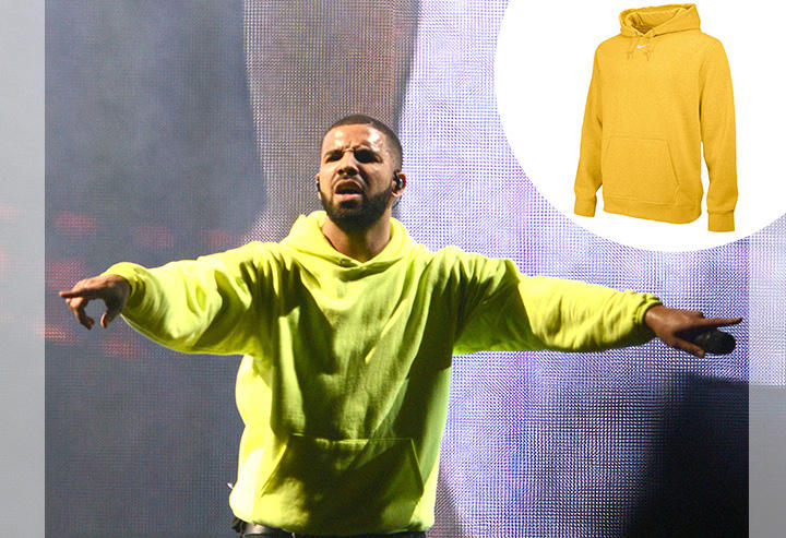 Drake: Nike Team Club Fleece Hoodie