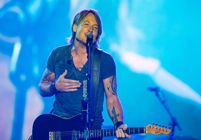 Keith Urban at Festival D'ete De Quebec