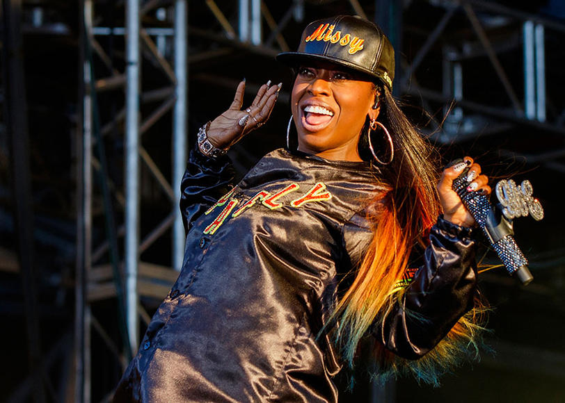 Missy Elliott at Pemberton Music Festival