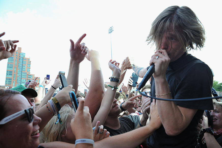 Cage the Elephant at Forecastle Music Festival