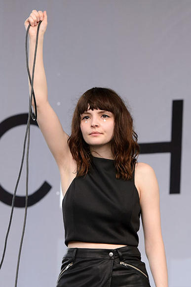 CHVRCHES at Pitchfork Music Festival