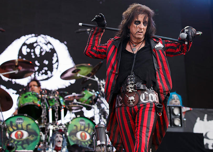 Alice Cooper at Pemberton Music Festival