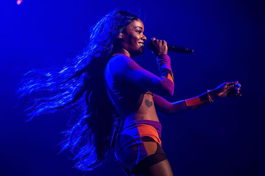Azealia Banks @ Splendour In The Grass