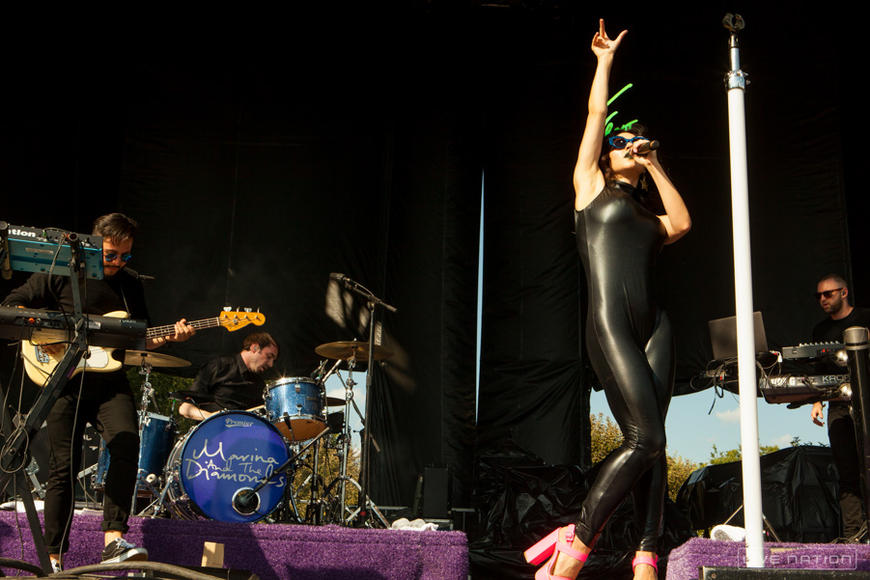 Marina and the Diamonds at Lollapalooza