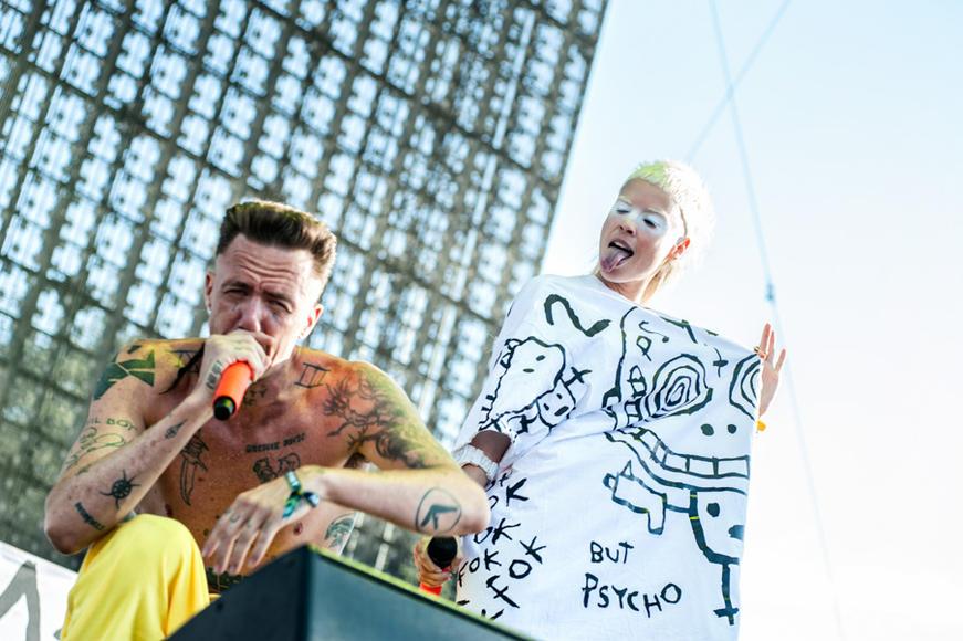 Die Antwoord at HARD Summer.