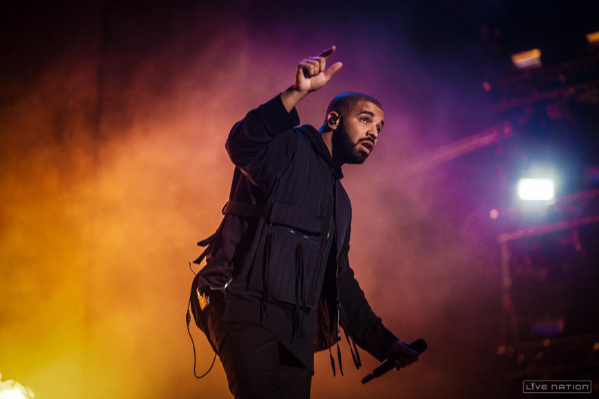Drake at Squamish Festival.