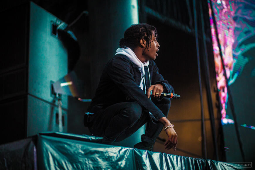 A$AP Rocky at Squamish Festival.