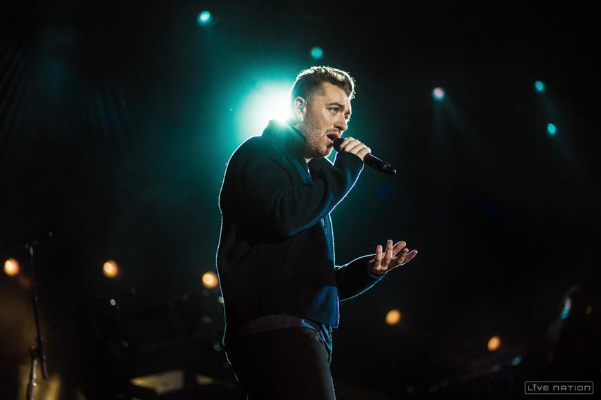 Sam Smith at Squamish Festival.