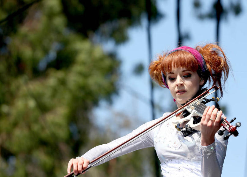 Lindsey Sterling at Outside Lands Music and Arts Festival.