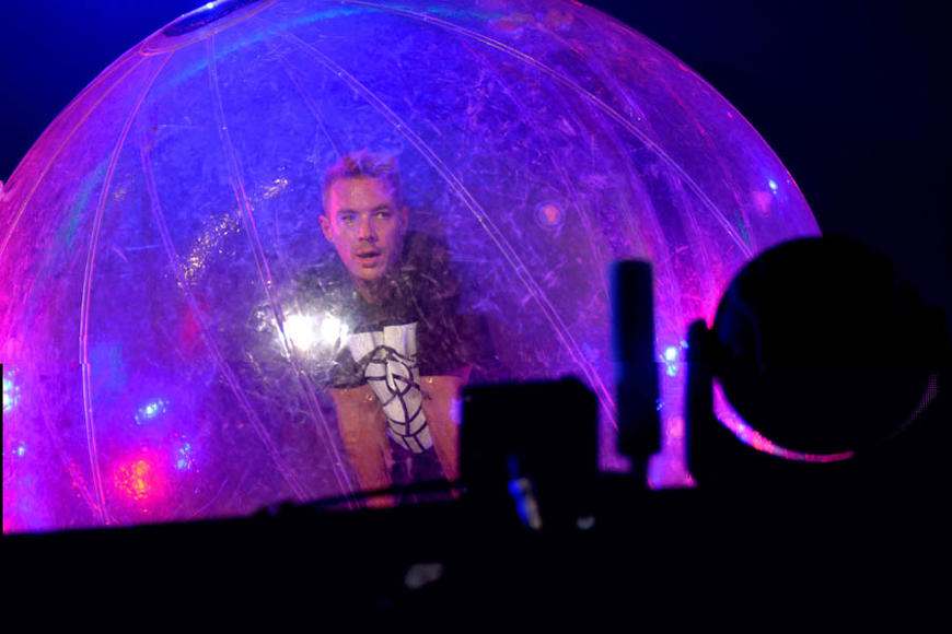 Diplo at Sziget Festival.