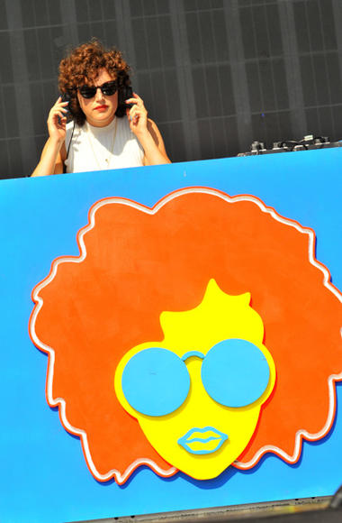 Annie Mac at V Festival