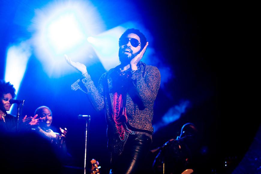 Lenny Kravitz at Afropunk Fest