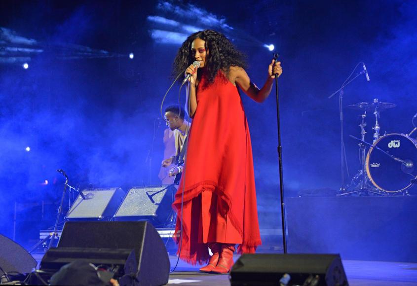 Solange at FYF Fest
