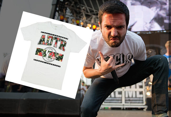 A Day to Remember Floral TShirt