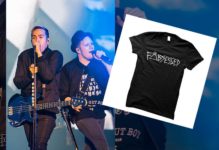 Fall Out Boy FOBsessed Tee