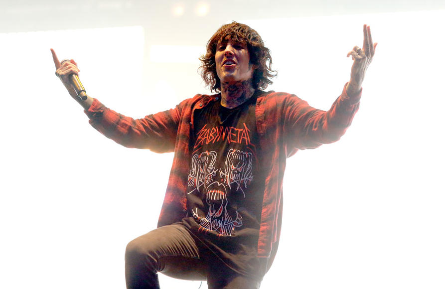 Bring Me the Horizon at Reading Festival