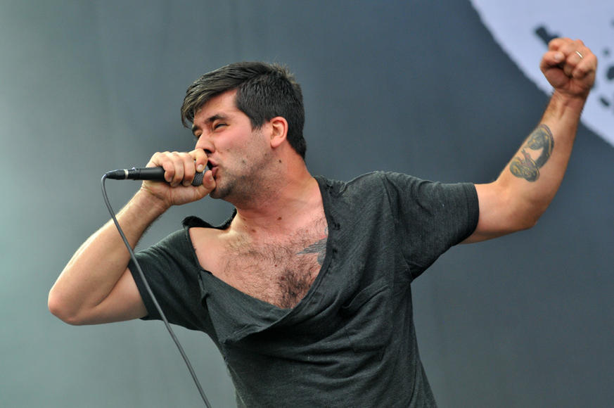 Alexisonfire at Reading Festival