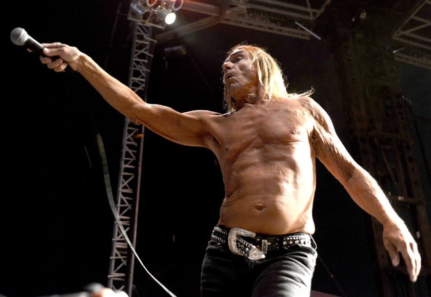 Iggy Pop at Riot Fest Denver