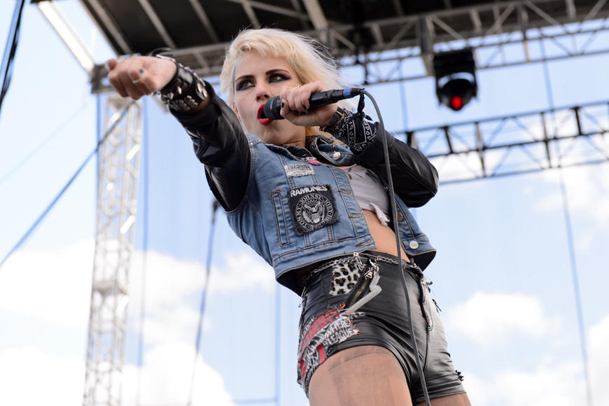 Barb Wire Dolls at Riot Fest Chicago