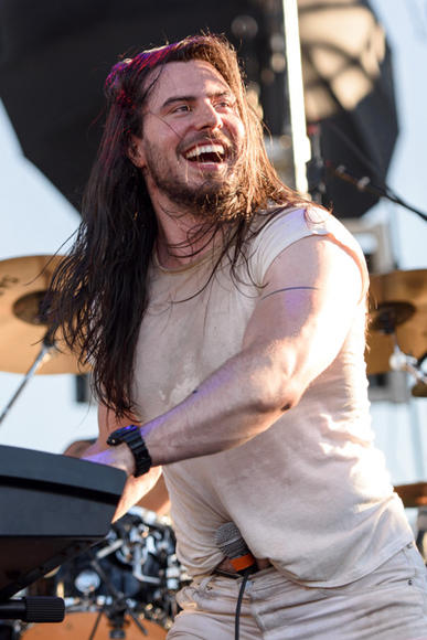 Andrew W.K. at Riot Fest Chicago