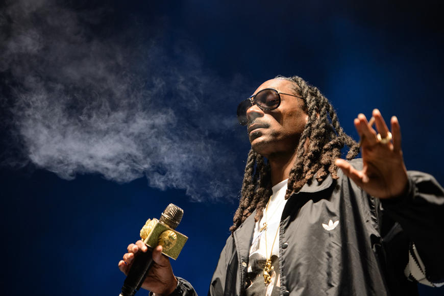 Snoop Dogg at Riot Fest Chicago