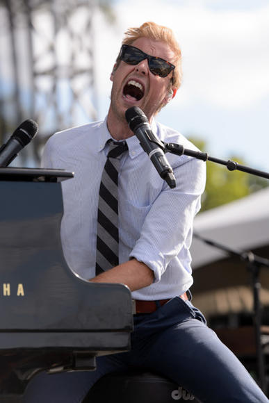 Andrew McMahon in the Wilderness at Riot Fest Chicago