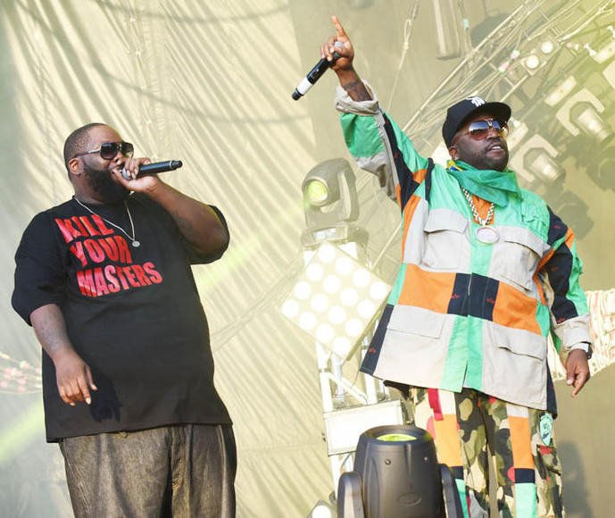 Killer Mike (Run the Jewels) and Big Boi (OutKast)