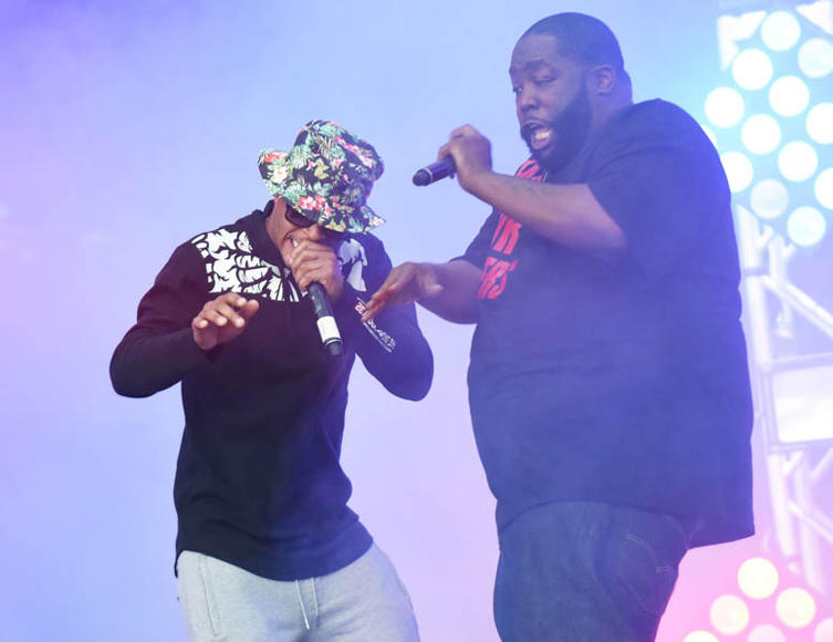 T.I. and Killer Mike (Run the Jewels)