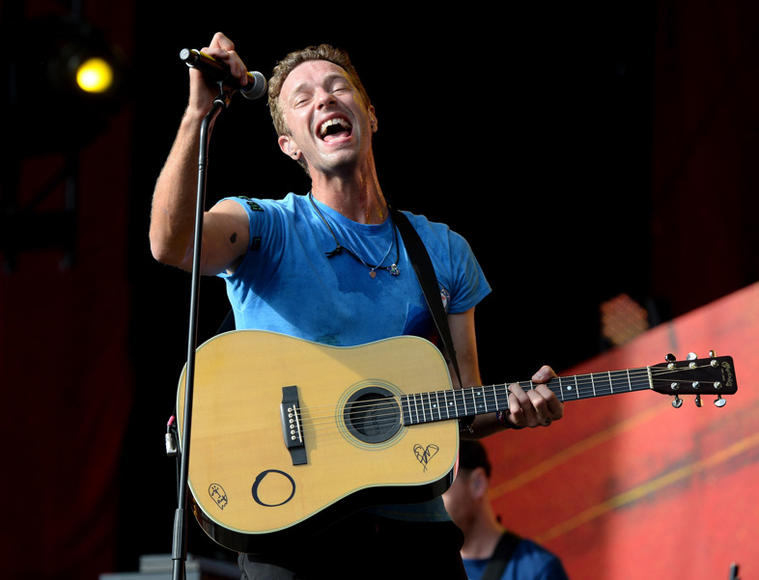 Coldplay at Global Citizen Festival