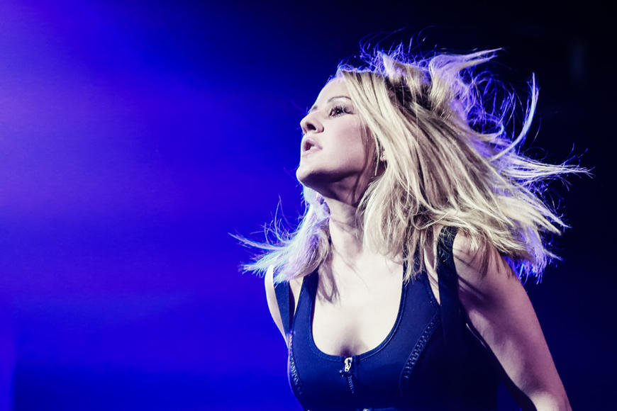 Ellie Goulding at Apple Music Festival