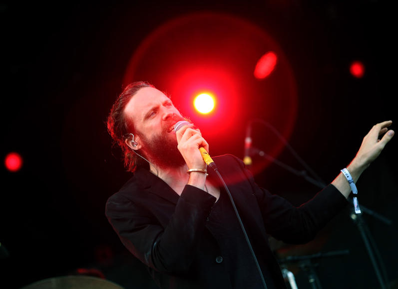 Father John Misty at Boston Calling