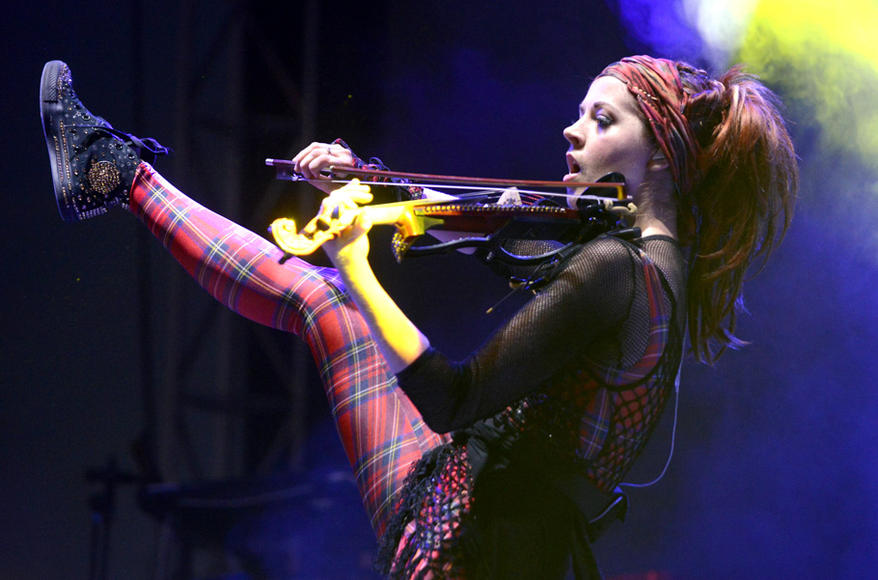 Lindsey Stirling at Life is Beautiful
